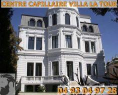 Centre Capillaire Villa La Tour - Nous vous accueillons au 134 Avenue des Arènes de Cimiez à Nice.   Un parking est réservé exclusivement à nos patients.