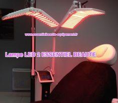 Photomodulation par GentleWaves LED – traitement de la peau  - Cliché avant