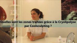Quelles sont les zones traitées grâce à la cryolipolyse par Coolsculpting ?